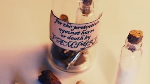 Witches Bottle for Cleansing