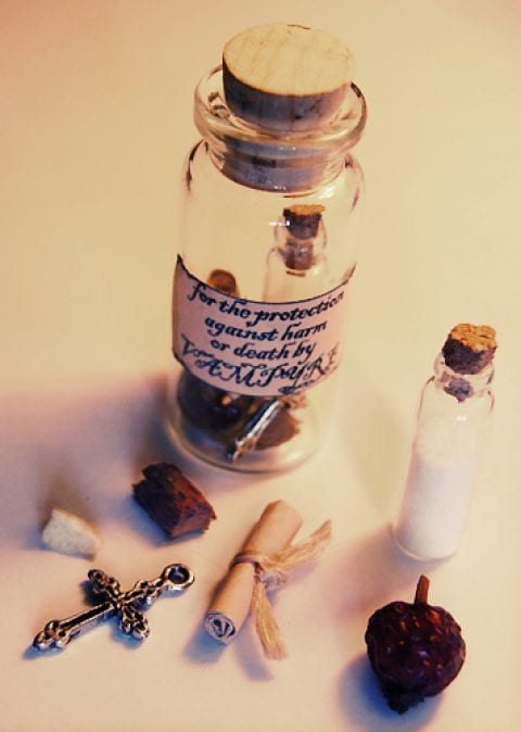 House Protection Witches Bottle