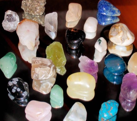 Meditating with Crystals