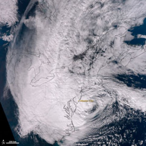 The Science behind Superstorm Sandy's Crippling Storm Surge