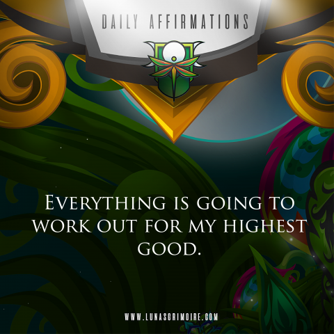 Daily Affirmation #1